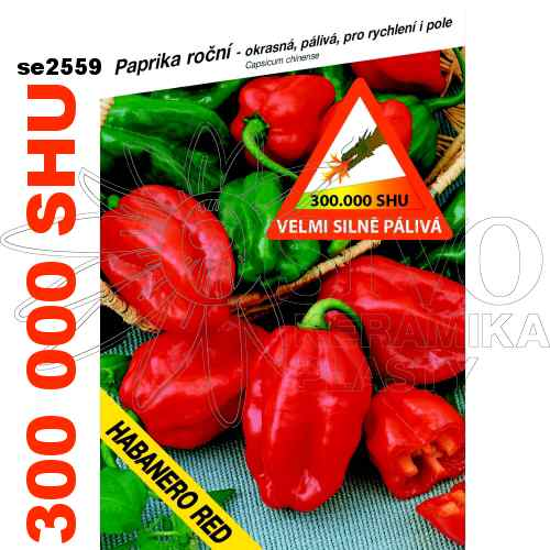 Chilli paprička Habanero red