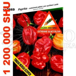 Chilli paprika Trinidad moruga scorpion red
